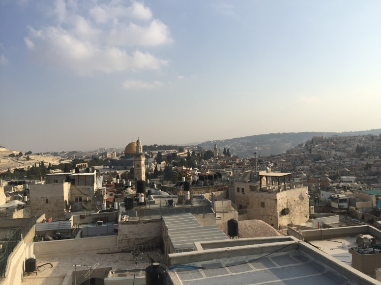 Rebekah Stevens in Israel: More great views from Jewish complex in the Muslim quarter